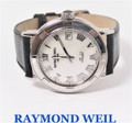 Unisex S/Steel RAYMOND WEIL PARSIFAL Watch Ref.9541 with Mother of Pearl * EXLNT