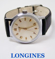 Vintage S/Steel LONGINES  Winding Watch c.1960's Cal 23 ZS* EXLNT* SERVICED