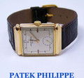 Vintage 18K PATEK PHILIPPE  Mens Winding Watch 1940s* EXLNT* Tested