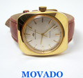 Vintage Gold MOVADO KINGNATIC Automatic Watch 1960s Cal 531 * EXLNT* SERVICED