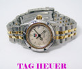 Ladies TAG HEUER PROFESSIONAL 200M Two Tone Watch WD1421-PO* EXLNT Condition