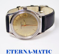ETERNA-MATIC 3000 Automatic Watch c.1970 Cal.1466U* EXLNT* SERVICED