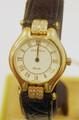 New 18k Gold JUVENIA Ladies watch with 0.24 ct Diamonds Ref 11625