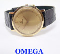 Unisex Solid 18k OMEGA Winding Watch c.1970s Cal.620 in Excellent Condition