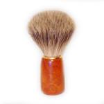 Zenith Badger Shaving Brush, Wooden Handle