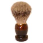 Zenith Badger Shaving Brush, T/Shell