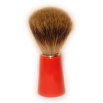 Zenith Badger Bristle Shaving Brush, Red