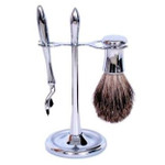 Comoy Shaving Set on Stand - Mak3