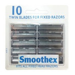 Smoothex/ Gem Fixed Twin Blades 10's