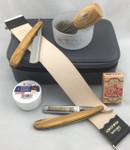 Dovo Straight Razor Travel Set