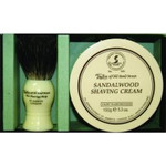 Taylor of Old Bond Street S/Wood S/Cream and Brush Gift Set