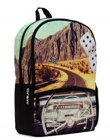 Mojo Backpacks Classic Cruisn' Route 66 Hi-Def