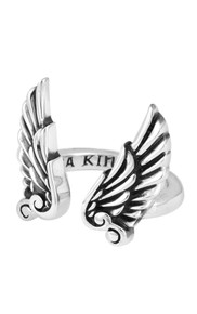 King Baby Open Ring with Wings K20-5962