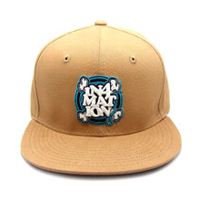 In4mation FYI Workwear Snapback Hat Flat Brim Cap Khaki IN4M-750