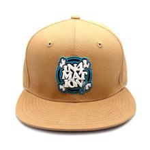 In4mation FYI Workwear Snapback Hat Flat Brim Cap Khaki IN4M-750