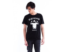 Defend Paris Unisex Unarmed T-Shirt Black