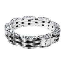 King Baby Studio Rotor Link Bracelet Sterling Silver K42-5280