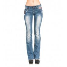 Affliction Jade Volcano Jackson Boot Cut Denim Jeans 111BC060