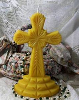 Silicone Cross Candle  Mold