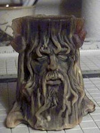 Silicone Wood Spirit Tree Spirit Greenman Green Man Candle Mold