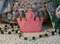 Silicone Flat Crown Soap  Mold