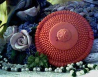 Silicone Nantucket Weave Sand Dollar Soap Candle Mold