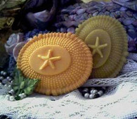 Silicone Nantucket Weave Starfish Soap Candle Mold #2