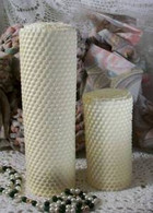 Silicone LARGE Honeycomb Honey Comb Candle Mold
