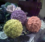 Silicone Flower Ball  Soap Candle  Mold