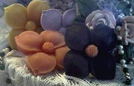 Silicone Flower Soap Candle Tart Mold
