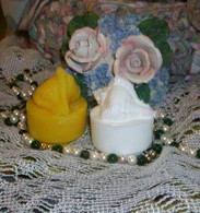 Silicone Conch Shell Tealight Candle Mold