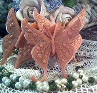 Silicone Butterfly Soap Candle Tart  Mold