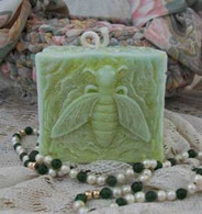 Silicone Bee Square Pillar Candle Mold