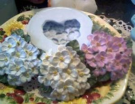 Silicone Apple Blossom Cluster Soap Candle Mold