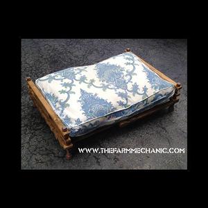 Industrial Rustic Dog Bed Futon - XL