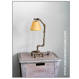 Artisan Industrial Black Pipe Lamp