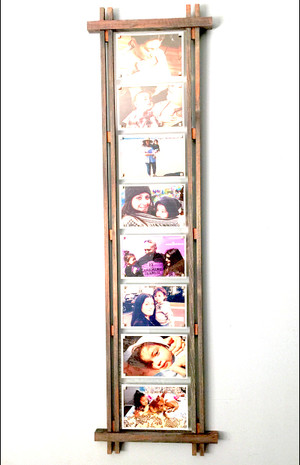 Rustic Picture Frame - Japanese Inspired