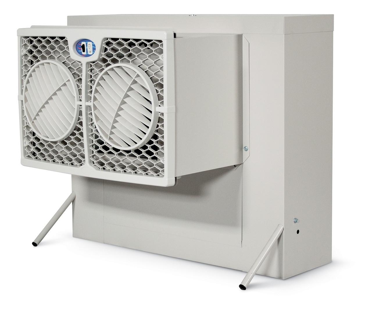 Window Evaporative Coolers : Slimline window evaporative cooler cfm brisa wh