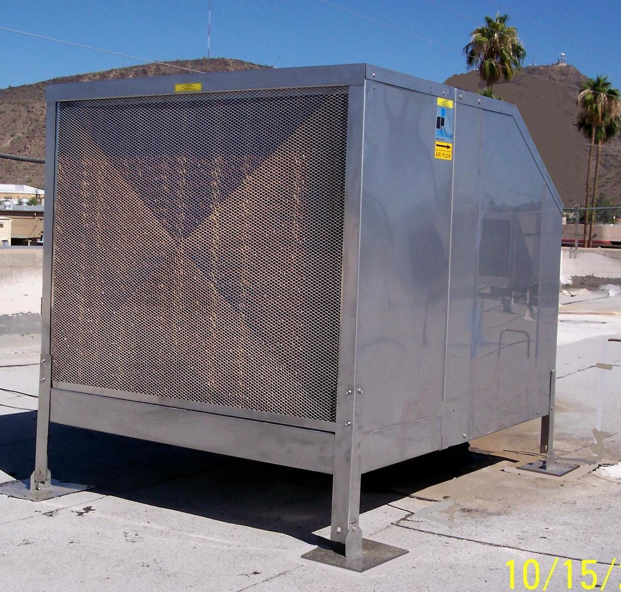 Swamp Cooler Media : Stainless steel evaporative cooler cfm premiercool