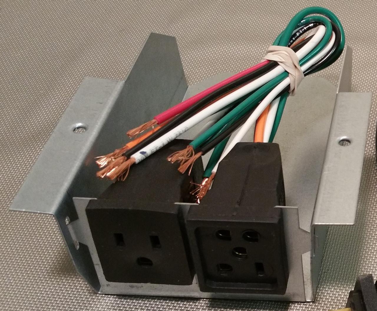 receptacle box 115 volt trophy