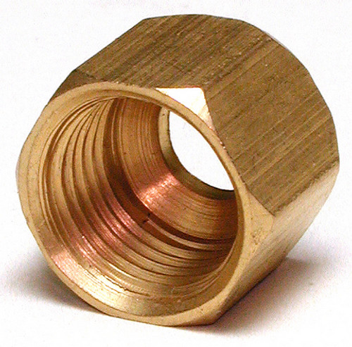 "1/4""  Brass Compression Nut (5 PACK) 93165"