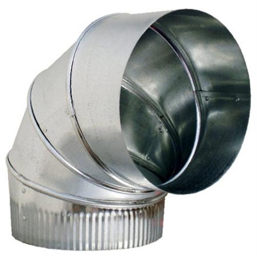 "6""  90 Degree Adjustable Elbow 26GA- HVAC Ductwork Sheet Metal SHM926U"