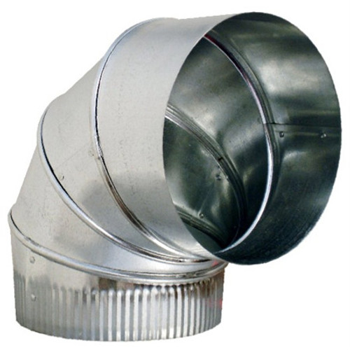 """16"""" 90 Degree Adjustable Elbow 26GA- HVAC Ductwork Sheet Metal SHM92616"""