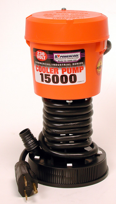 15000 CFM Cooler Pump 230 Volt Industrial 1396