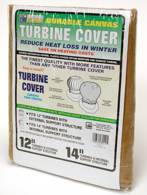 "14"" Roof Turbine Cover Canvas 8551"