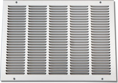 24 X 8 Air Return Grille Stamped Face - NO Filter Frame PSRGW24X