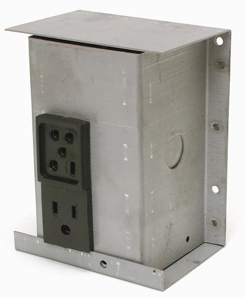 115V Swamp Cooler Electrical Plug Junction Box 7705