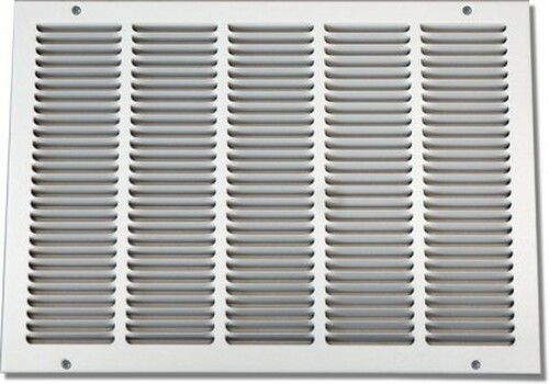 20 X 20 Stamped Return Grille NO Filter PSRGW2020