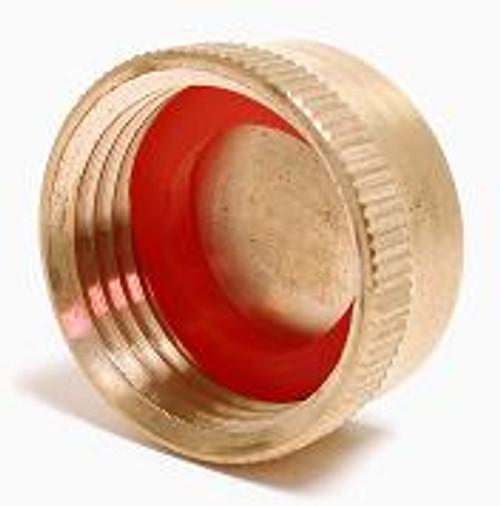 Brass Drain Cap with Washer PFGHCF