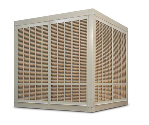 20,000 CFM Downdraft Industrial Evaporative Cooler - Aspen Pads